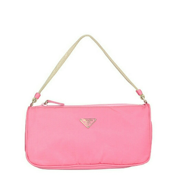 a3258b525349 Prada Bags | Nwt Vela Baguette Handbag In Begonia Sale | Poshmark
